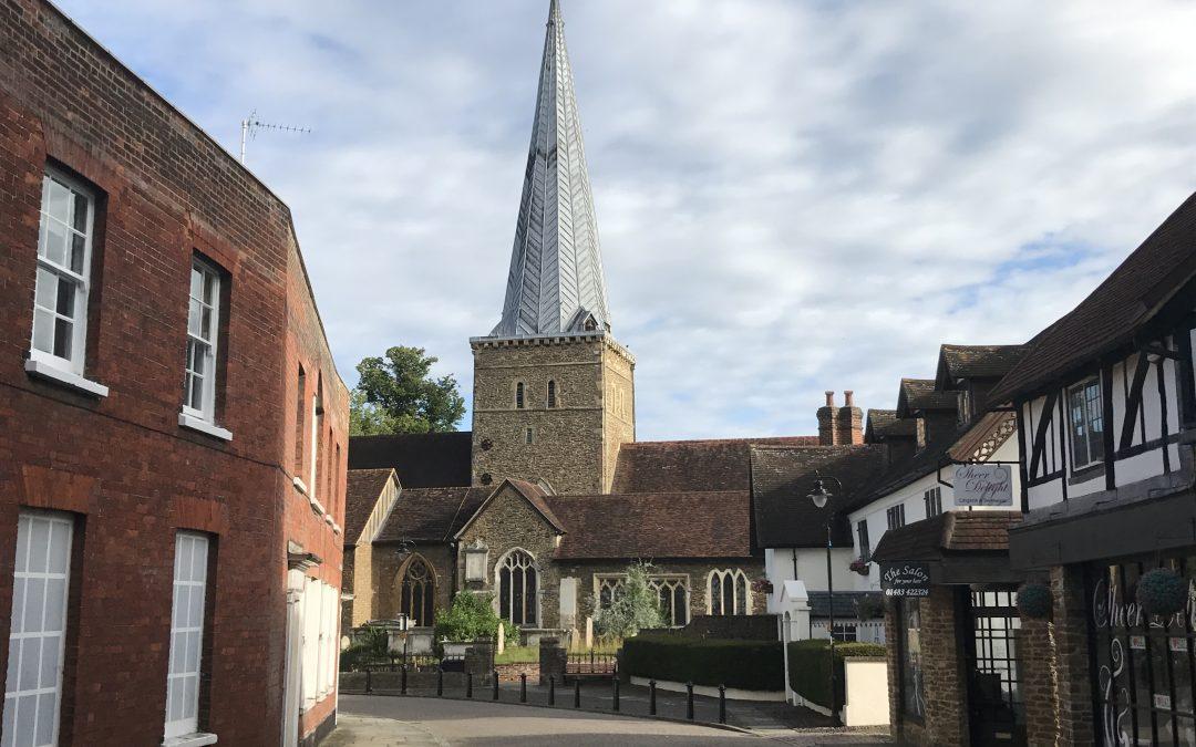 St Peter & St Paul, Church Street, Godalming